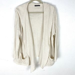 Brandy Melville slouchy cardigan open front hood